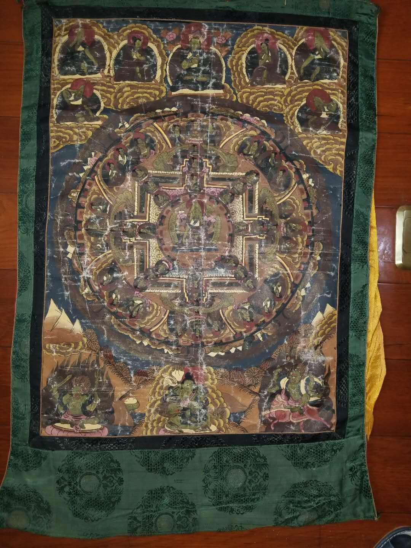 宗喀巴大师画像唐卡